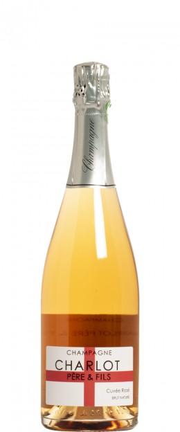 Champagne Cuvée Rosé Brut Nature