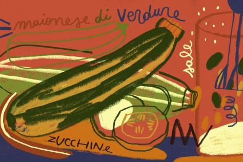 La maionese di verdura