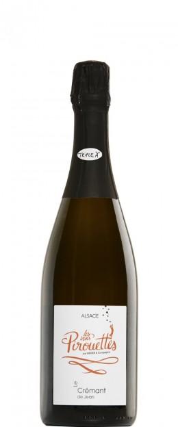 Les Vins Pirouettes Crémant d'Alsace de Jean