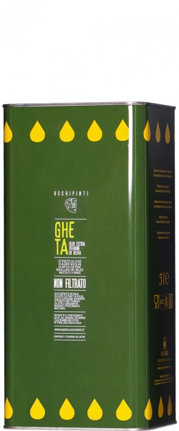 Latta 5L Olio Extravergine d'Oliva Gheta