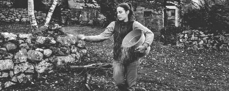 Myrtha, la market gardener di Foradori