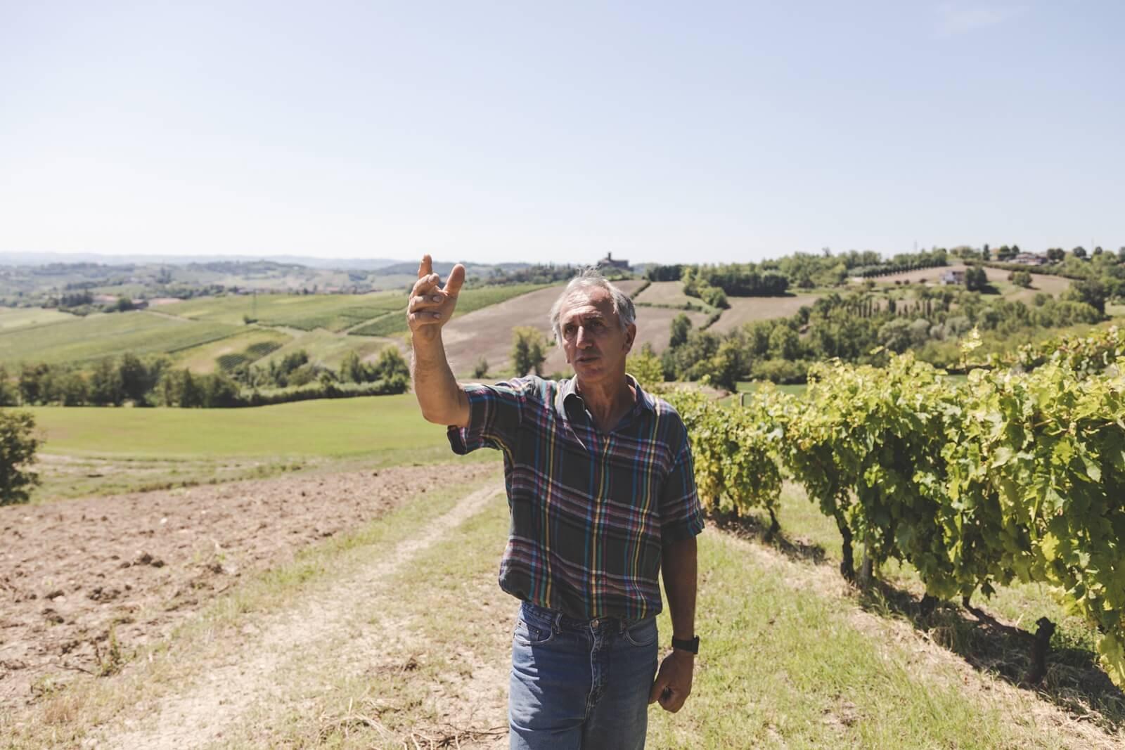 Tenuta Migliavacca, Francesco Brezza